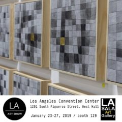 LA ART SHOW 2019, Los Angeles Convention Center, Los Angeles California USA con La Sala Art Gallery